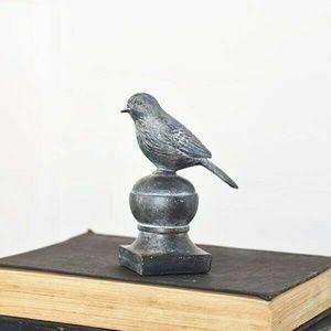 Graceful Bird on Finial Figure
